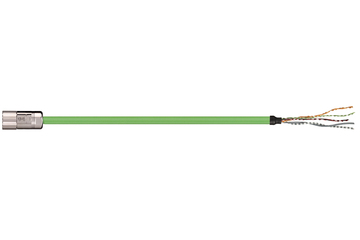 readycable® feedback cable similar to Allen Bradley 2090-CFBM4DF-CEAFxx, base cable TPE 7.5 x d