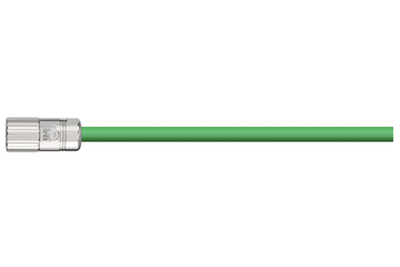 readycable® pulse encoder cable acc. to Baumüller standard 198965 (10 m), pulse encoder base cable PUR 7.5 x d