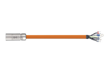 readycable® servo cable suitable for Beckhoff ZK4000-2112-xxxx, base cable PUR 7.5 x d