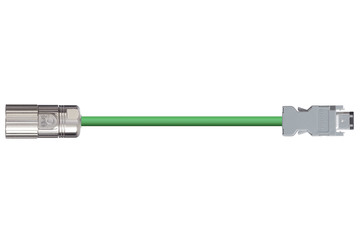 readycable® encoder cable acc. to Omron standard R88A-CRWA-xxxC-DE, base cable PVC 10 x d
