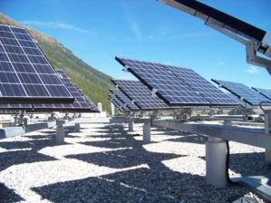 Vertical tracking systems maximise solar energy yields throughout the day.