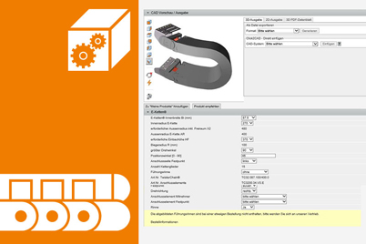 CAD configurator for twisterchain®
